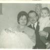 1960. Xavi, Candy, Joan y Pedro.